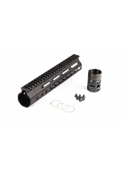 Parrallax Tactical FFSSR Keymod 9'' Black