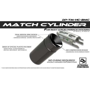 Dynamic Precision Dynamic Precision Match Cylinder for Blowback Housing
