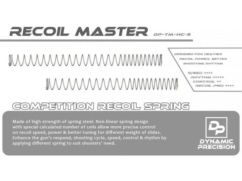 Dynamic Precision Dynamic Precision Recoil Master Spring, TM HI CAPA