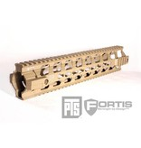 PTS PTS FTS Fortis REV Free Float Rail 12'' Flat Dark Earth