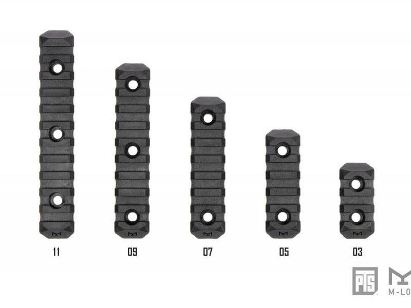 PTS PTS Enhanced MLOK Rail 3 Slot Black