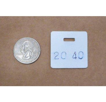 TacTrainer TacTrainer 3Gun Sq Plate 2040