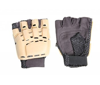 UK Arms Half Finger Armor Gloves