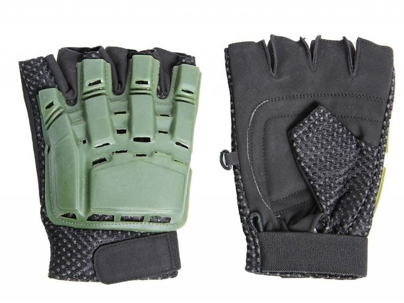 UK Arms UKARMS Half Finger Armor Gloves