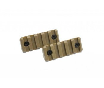 Dytac Keymod 5 Slot Polymer Rail 2pc