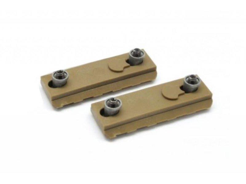 Dytac Dytac Keymod 5 Slot Polymer Rail 2pc