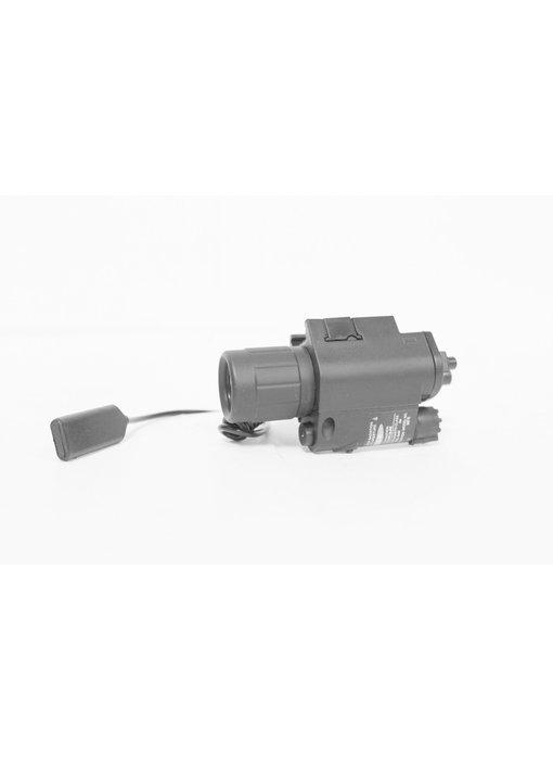 Castellan 300 lumen LED weaponlight w/green laser