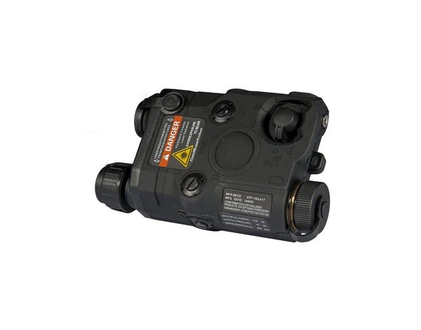UK Arms UKARMS AN/PEQ15 LED/IR with Red Laser