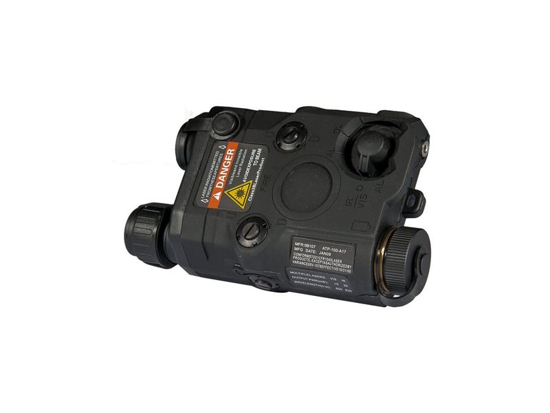 UK Arms UKARMS AN/PEQ15 LED/IR w/ Red Laser