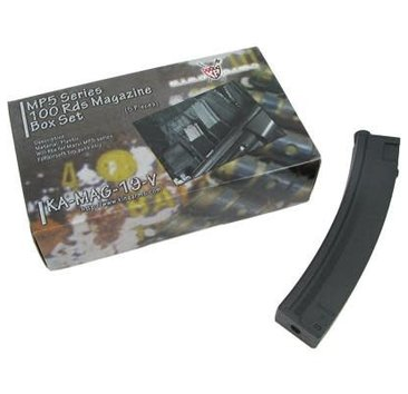 King Arms King Arms MP5 100rd Midcap 5pk