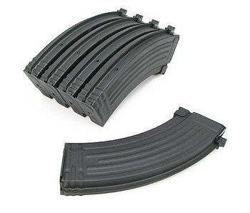 King Arms AK 140rd Midcap Metal 5pk