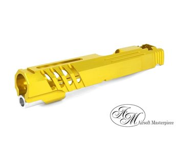 Airsoft Masterpiece Custom Saber Slide GOLD