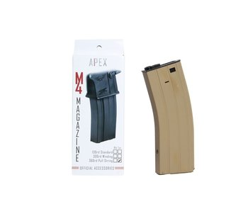 Apex M4 360 rd pull string mag, TAN