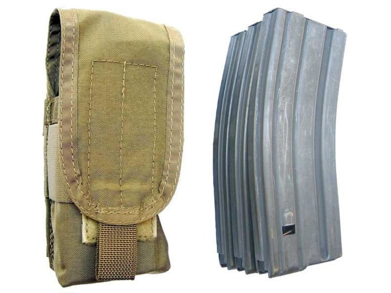 S.O. Tech SOTECH BLOCS 3X Mag Pouch TAN