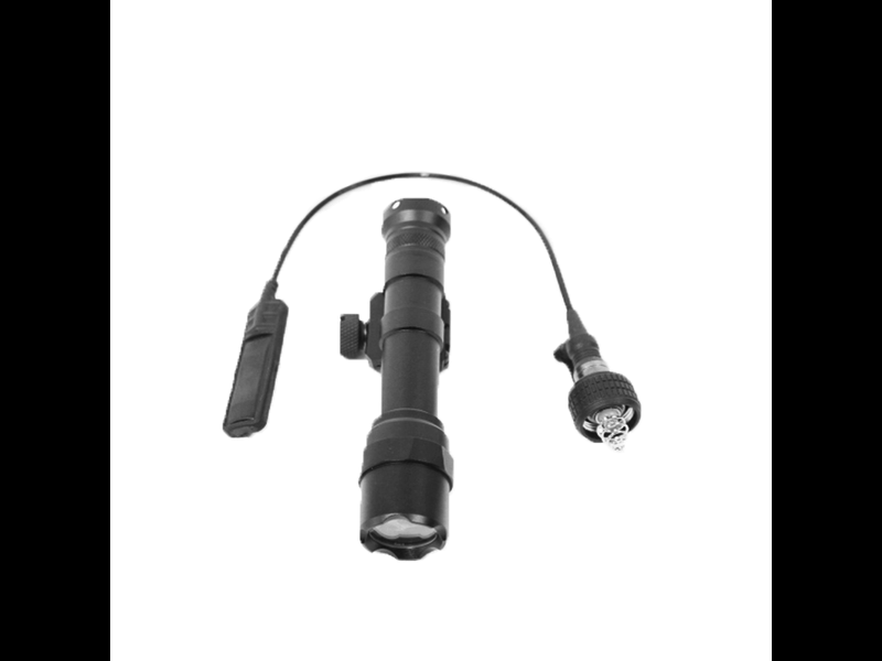 Airsoft Extreme AEX 6V 350 Lumens Rifle Tac Light With Pressure Switch