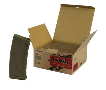 KWA K120 Polymer Mag FDE, 6 Pack