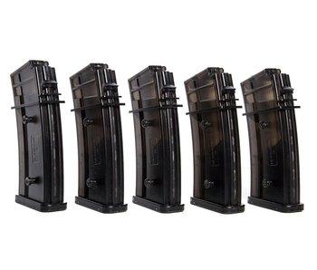Umarex H&K G36 Hi-Cap, 5-pack BLK