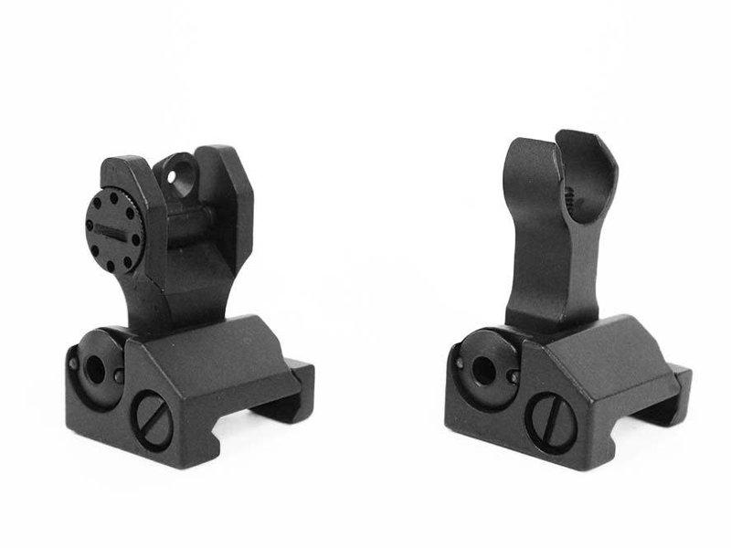 ZCI ZCI Battlesight Front and Rear Flip Up Iron Sight Set