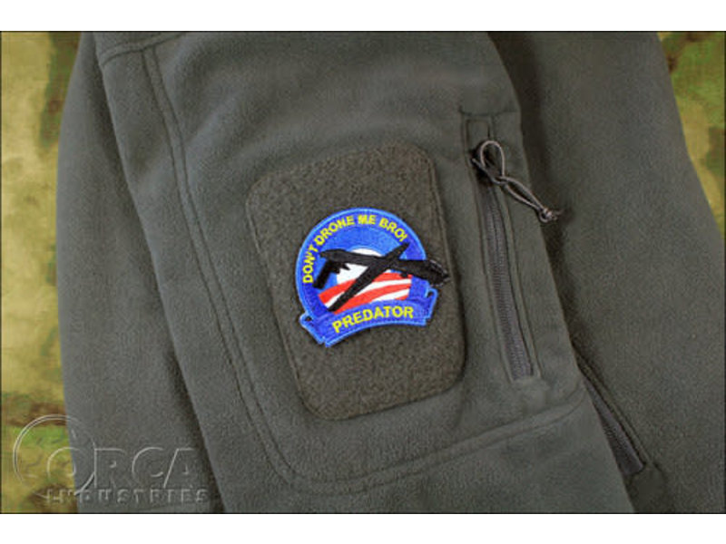 "Orca Industries Orca Industries ""Don't Drone Me Bro!"" Patch"