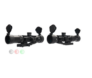 Lancer Tactical 1.5-5x40mm Tri-Illuminated Scope