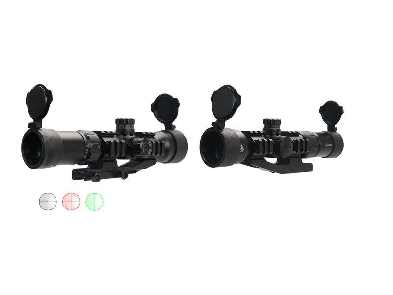 Lancer Tactical Lancer Tactical 1.5-5x40mm Tri-Illuminated Scope