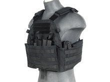 Lancer Tactical Lancer Tactical 1000D 69T4 Plate Carrier w/ Triple M4 Magazine Pouch