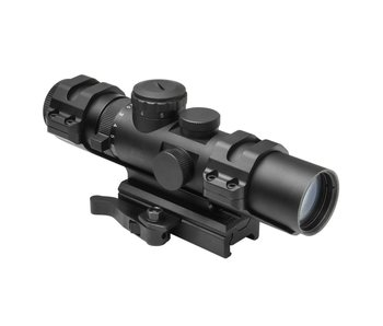 NC Star XRS 2-7x32 Compact Mil-Dot QD Scope - Blue Illumination