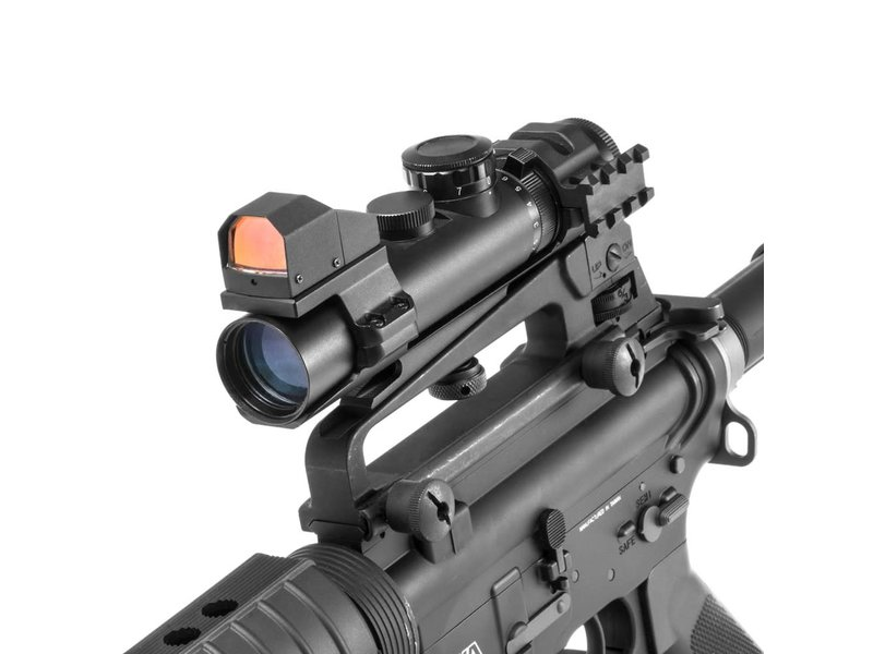 NC Star NC Star XRS 2-7x32 Compact Mil-Dot QD Scope - Blue Illumination