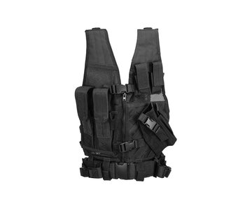 Lancer Tactical 1000D Cross Draw Vest Small