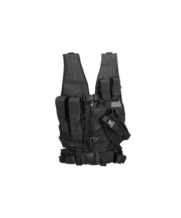 Lancer Tactical Lancer Tactical Cross Draw Vest 1000D Polyester Youth / Small