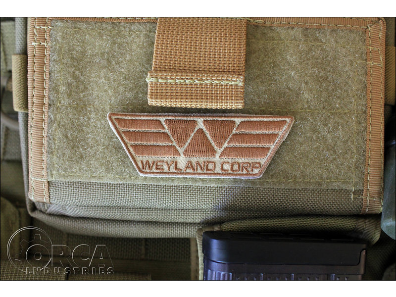 Orca Industries Orca Industries Weyland Corp Patch