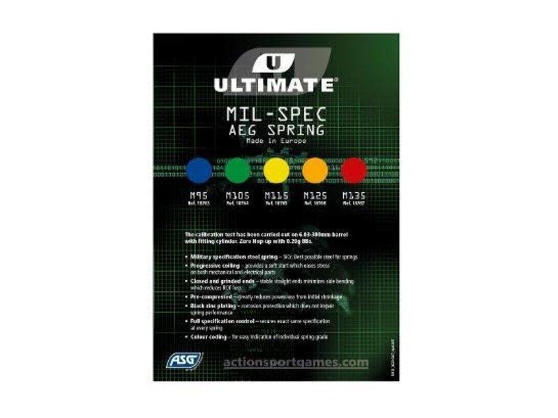 SiCr Ultimate AEG Upgrade Spring