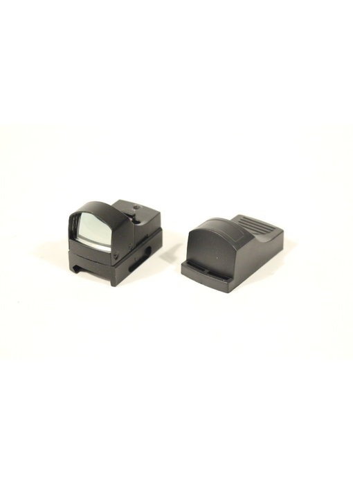 AEX micro dot sight, red/green with weaver mount