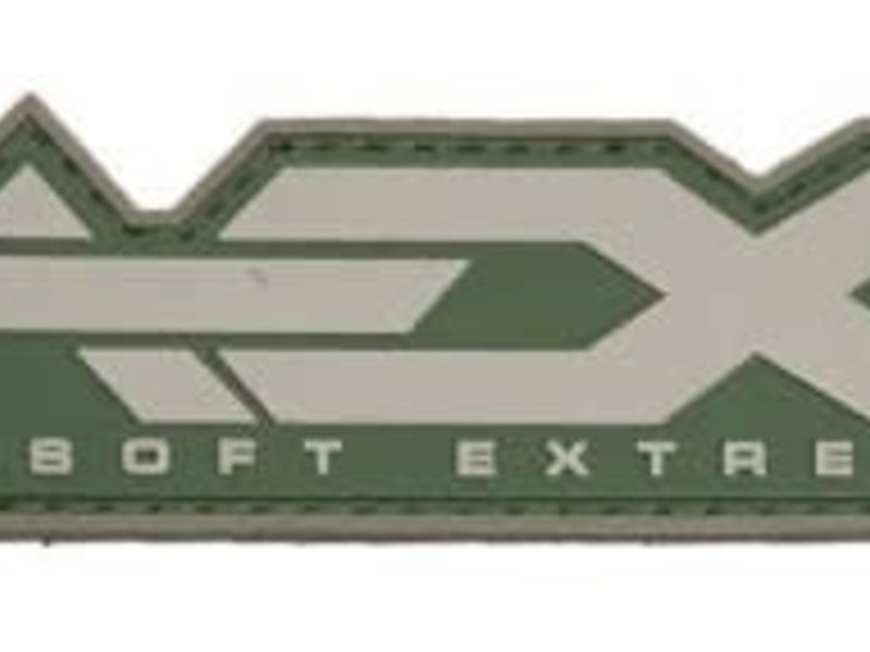 Airsoft Extreme AEX Logo PVC Patch