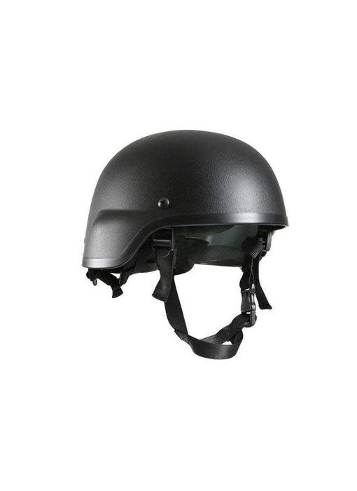 AEX MICH 2000 Lightweight Helmet - BLACK