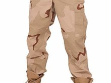 Rothco Ripstop BDU Pant, 3 Color Desert