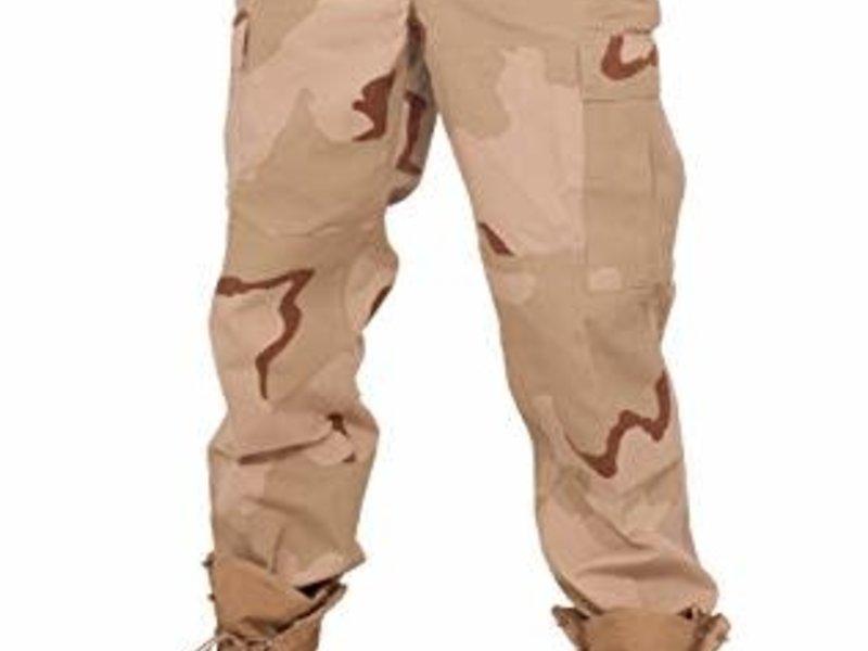 Rothco Ripstop BDU Pant, 3 Color Desert
