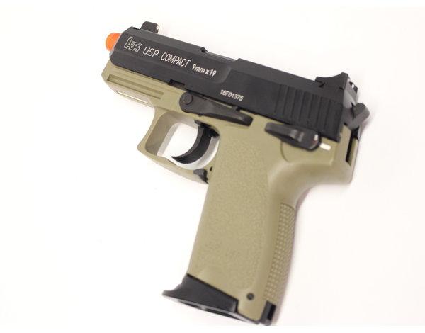 KWA KWA H&K USPC Tactical Black/FDE