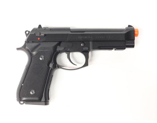 KWA KWA M9 Railed Tactical Gas Blowback Professional Training Pistol Black