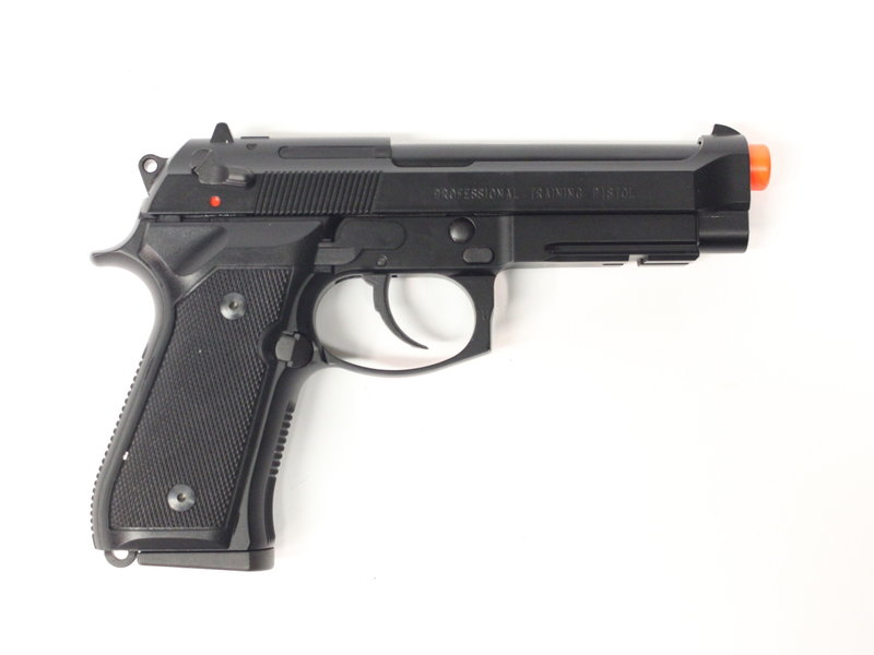 KWA KWA M9 Railed Tactical Gas Blowback Professional Training Pistol Black