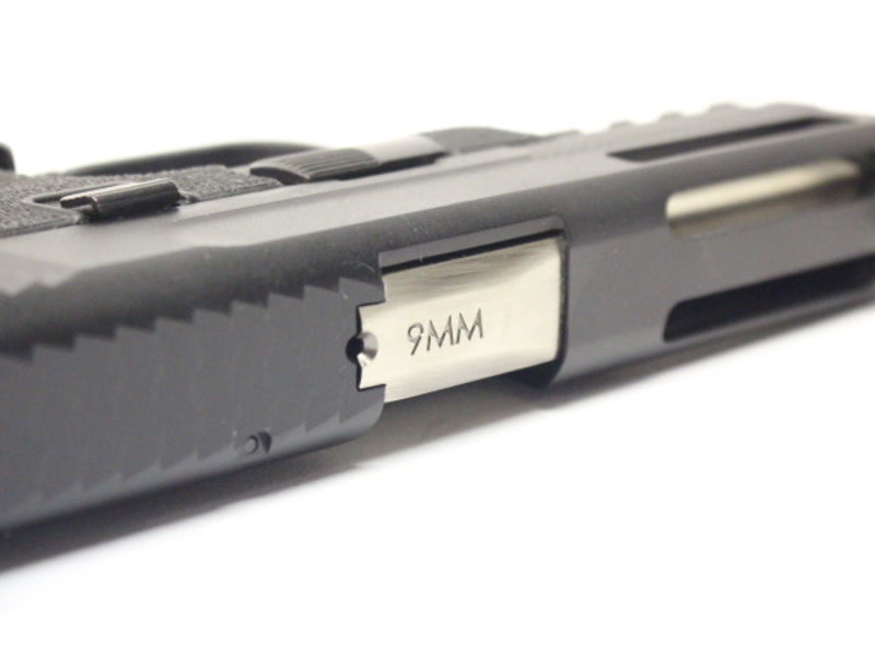 WE Tech WE MP4 5.0 Custom Black, Silver Barrel