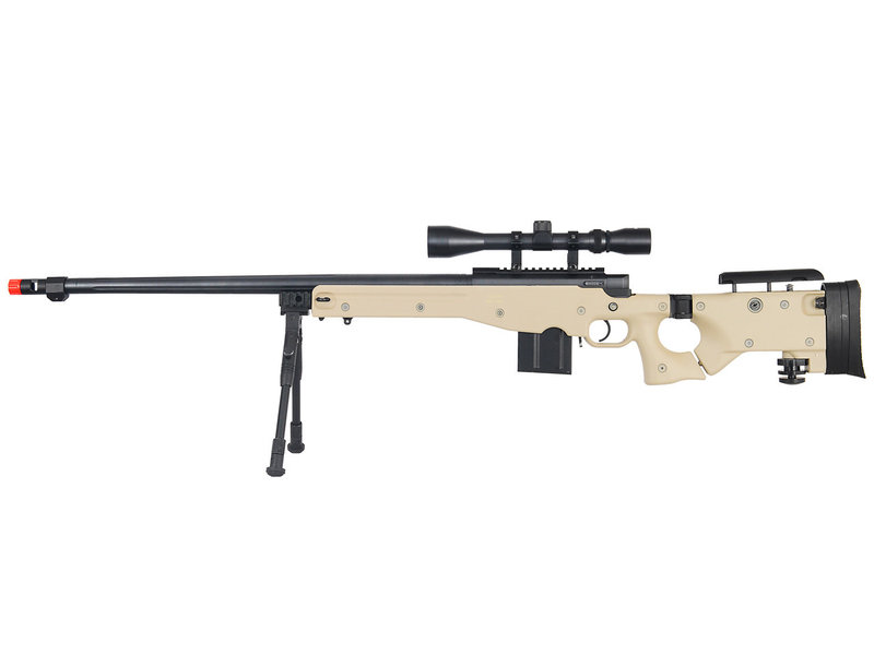Well WELL MB4403 L96  Bolt Action Spring Sniper Rifle with Folding Stock