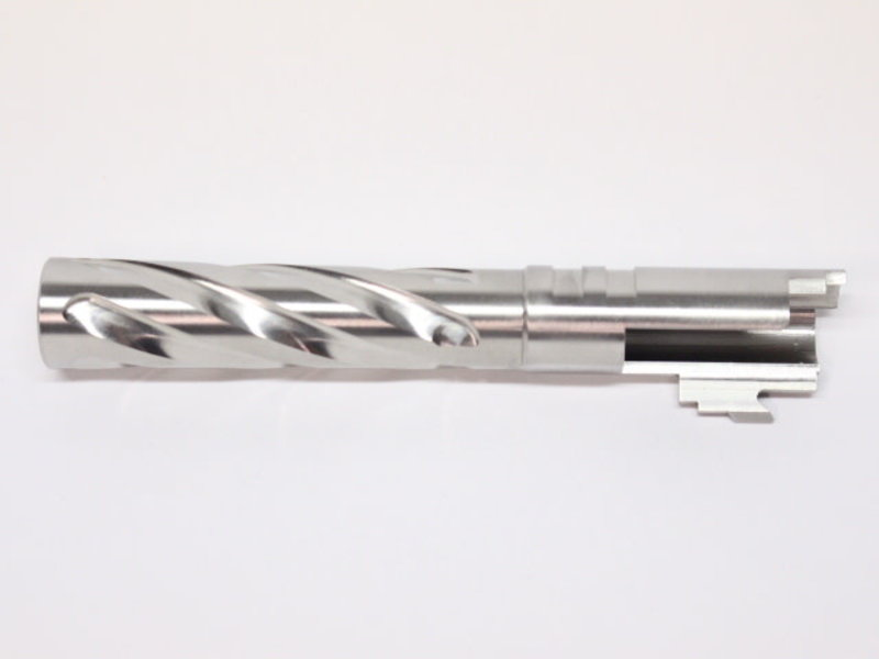 CowCow CowCow Tornado 5.1 45 cal Barrel Silver