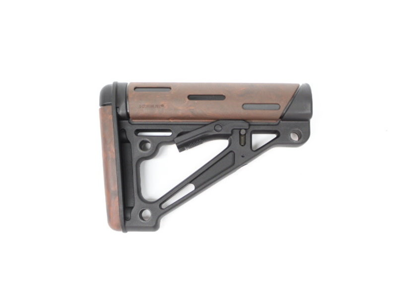 Hogue Hogue Overmolded AR buttstock LAVA