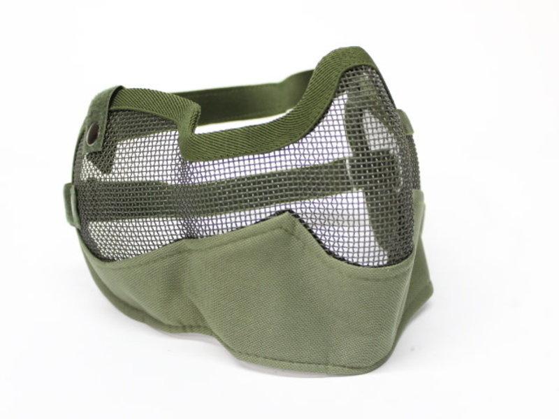 V-Tac V-Tac 3G Wire Mesh Mask with Ear Protection Olive Drab