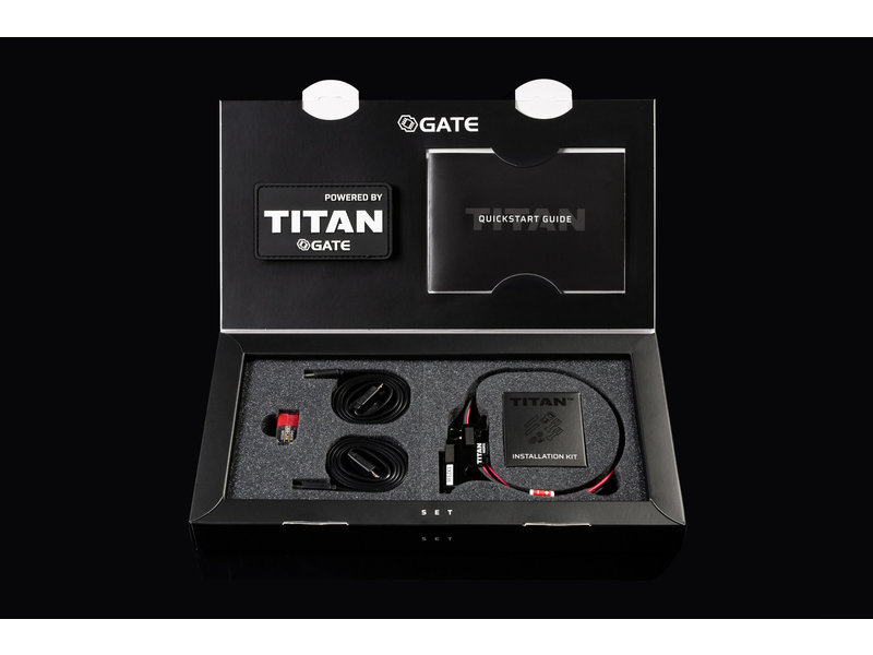 GATE GATE TITAN V2 NGRS Advanced Set, Front Wired