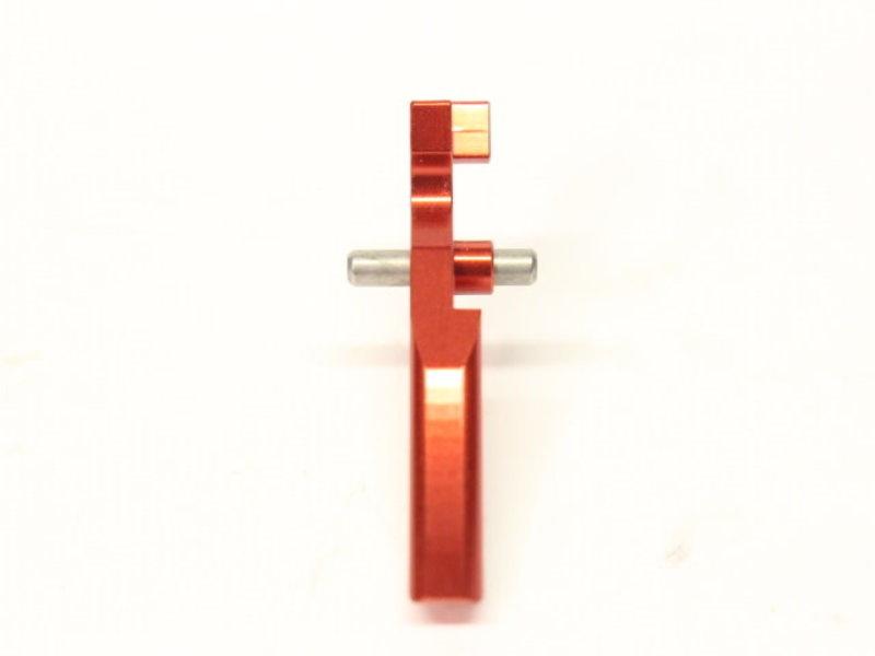 Castellan RA CNC Aluminum Flat Trigger RED