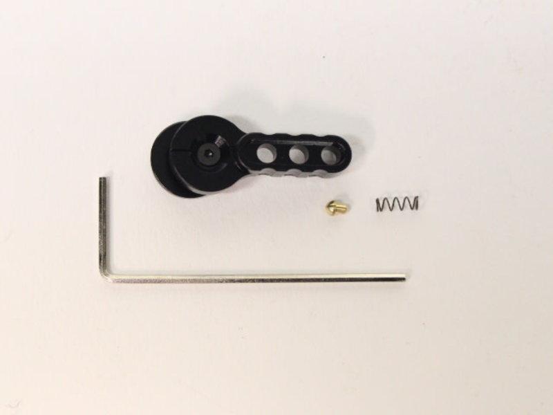 Castellan CNC M4 selector lever BLK