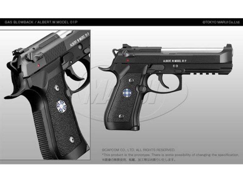 Tokyo Marui Tokyo Marui Biohazard Albert W Model 01P Umbrella Corporation M9A1 Gas Blowback Pistol