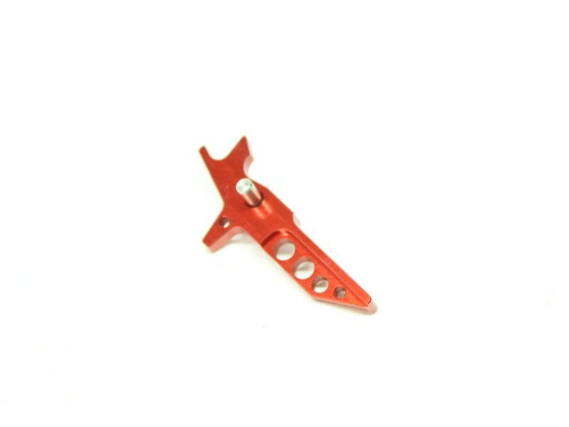 Castellan RECP CNC Aluminum Flat Trigger RED